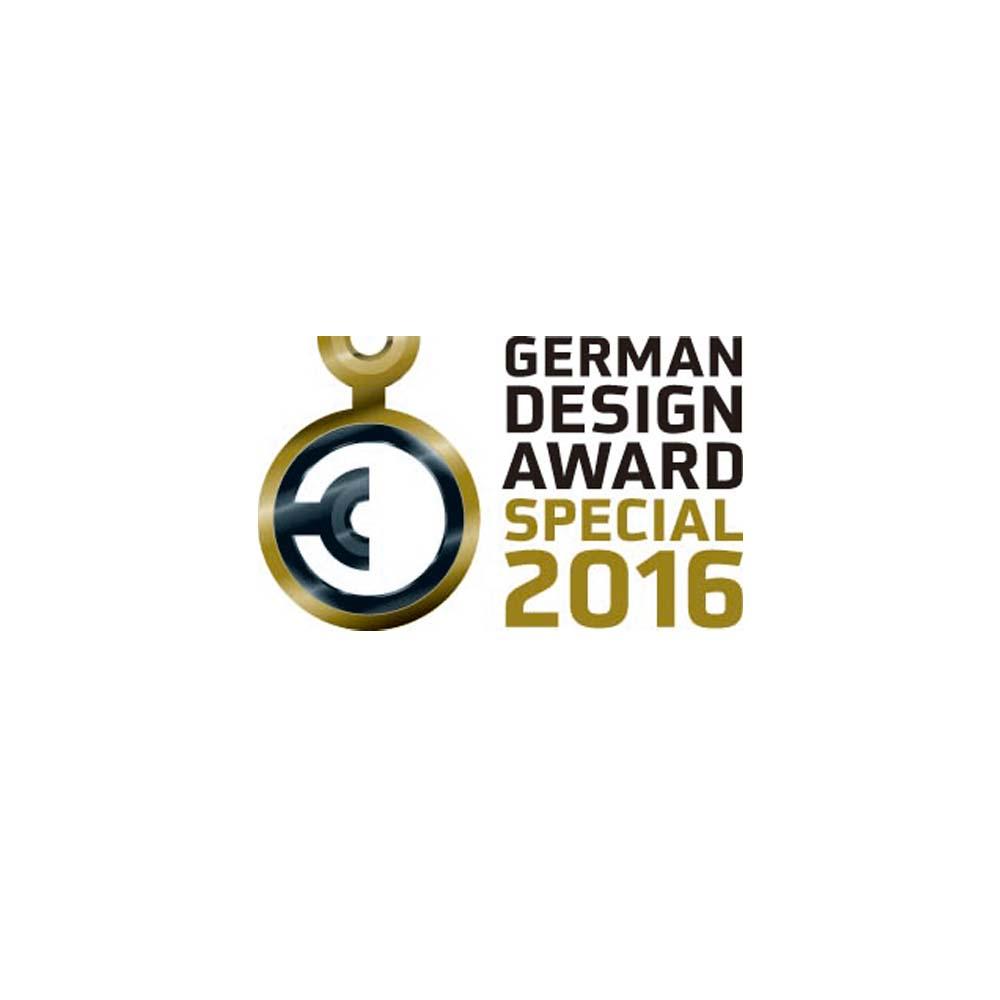 MISOKA・ISM received German Design Award  2016.