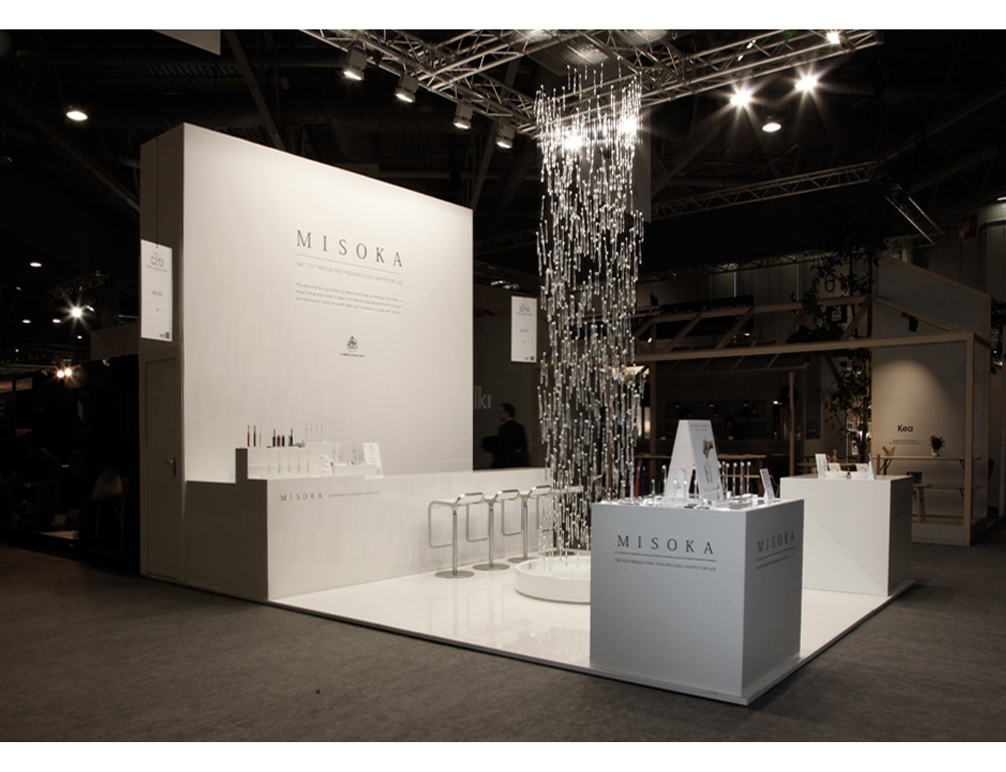 Waterfall / Exhibition space design